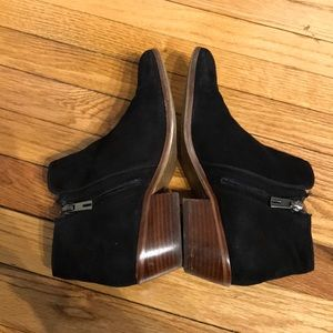 Sam Edelman Shoes - Suede Zip up Casual Low Heeled Chunky Round toe